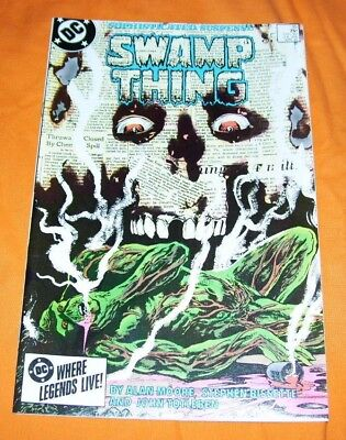 SWAMP THING #35 Alan Moore VF/NM 9.0