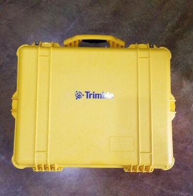 Trimble Yellow Base Station Pelican Case **brand New**free Shipping**