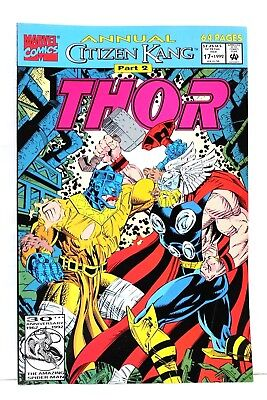 The Mighty Thor Annual #17 Citizen Kang 1st Print Marvel Comics Comic VG/F