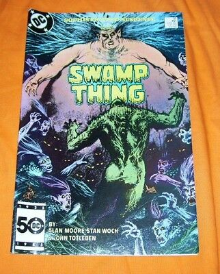 SWAMP THING #38 Alan Moore NM- 9.2