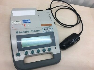 Verathon BladderScan Model BVI 3000 with Transducer and 1 x Battery (Powers Up)