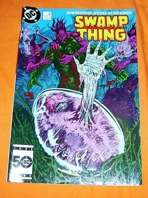 SWAMP THING #39 Alan Moore NM- 9.2