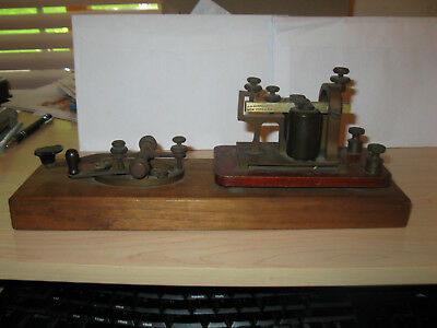 j. h. bunnell telegraph and sounder set