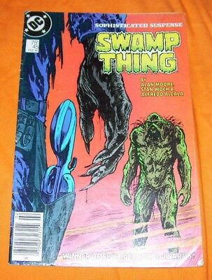 SWAMP THING #45 Alan Moore VG 4.0