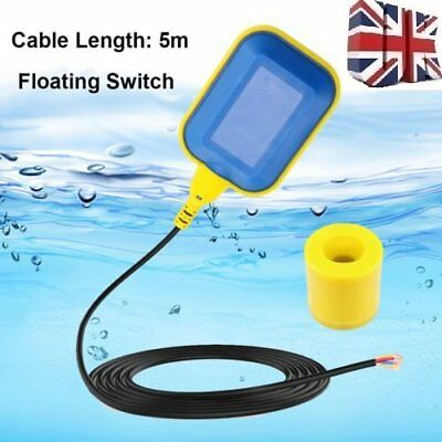 Submersible Floating Switch For Electrical Water Pump Auto On Off With 5M Cable