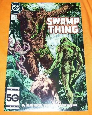 SWAMP THING #47 Alan Moore VF- 7.5