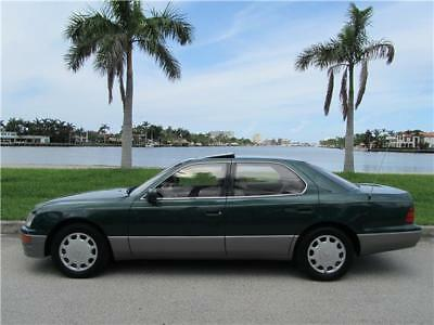 1996 Lexus LS 1OWN CLEAN CARFAX FULLY MAINTAINED ES GS 430 1996 LEXUS LS400 1OWN CLEAN CARFAX FULLY MAINTAINED NON SMOKER 430 NO RESERVE!!!