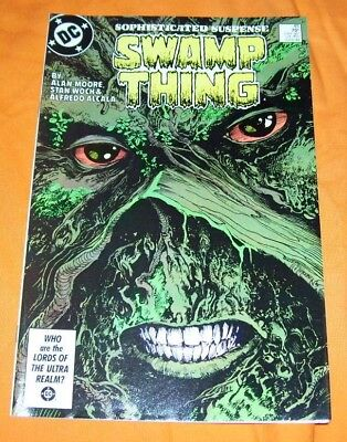 SWAMP THING #49 Alan Moore NM- 9.2