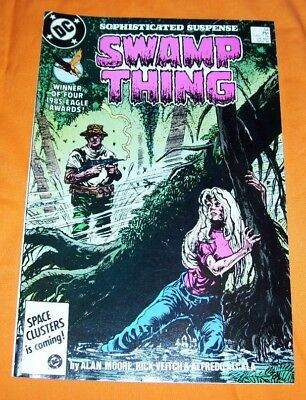 SWAMP THING #54 Alan Moore NM- 9.2