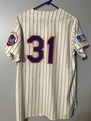 meet 71f68 0acd6 1969 NEW YORK Mets Mitchell And Ness Throwback Mike Piazza #31