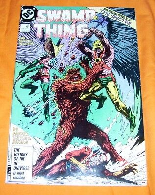 SWAMP THING #58 Alan Moore VF/NM 9.0