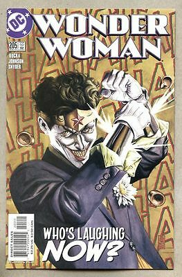 Wonder Woman #205-2004 vf/nm The Joker / JG Jones Greg Rucka