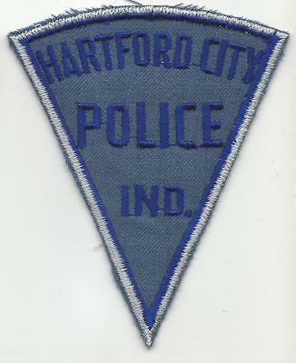 Hartford City INDIANA IN Police patch OLD