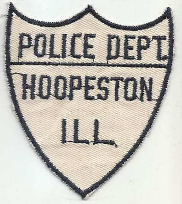 Hoopeston ILLINOIS IL Police patch