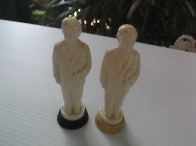 Vtg Quirky Kfc Colonel Harland Sanders Salt & Pepper Shakers Starling Canada