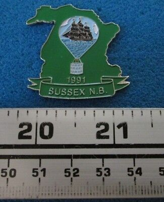 Marco Polo 1991 Sussex N.b. Montgolfière Hot- Air Balloon Pin # 7677