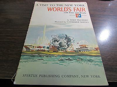 A Visit To The New York World's Fair - Official Edition - 1964 Spertus