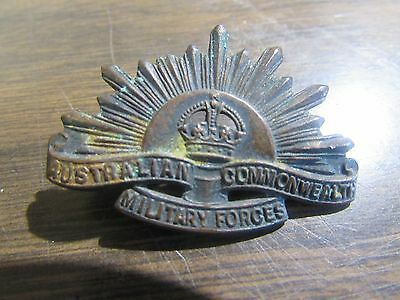 Wwii Australian Commonwealth Military Forces Badge - Original