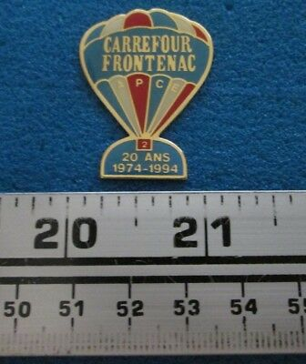 1974-1994 20 Ans Carrefour Frontenac  Montgolfière Hot- Air Balloon Pin # 7690