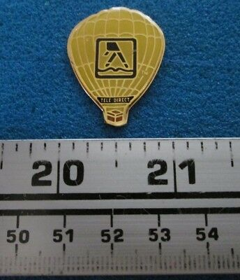 Tele Direct Pages Jaunes Yellow Pages Montgolfière Hot- Air Balloon Pin # 7696