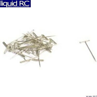 DUBRO 254 NICKEL PLATED T-PINS 1-1//2in 100 PCS PER PACK