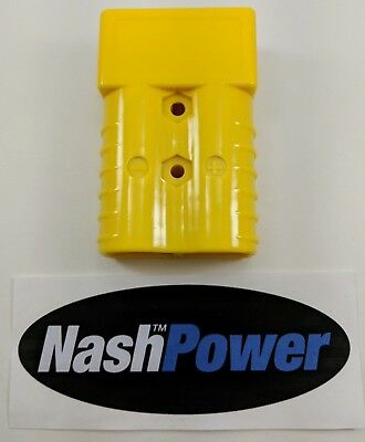 350 Amp Yellow Battery Connector Housing Replaces Anderson SB350
