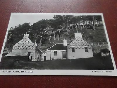 Real Photo Postcard The Old Smithy Berriedale Caithness