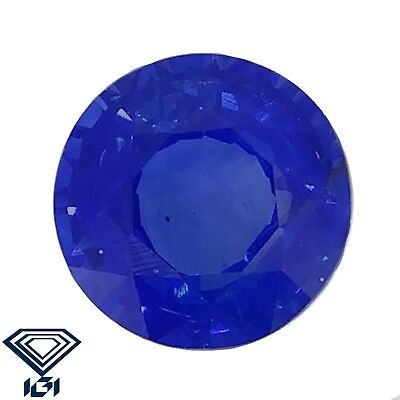 IGI certified Kashmir Sapphire untreated 0.46ct Natural Loose Gemstones.