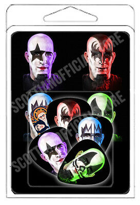Scott Ian NEW Guitar Pick - SCOTT IAN OFFICIAL STORE SET FULL MASKED PICKS