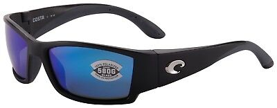 07894edc847d Costa Del Mar Corbina Sunglasses CB-11-OBMGLP Black 580G Blue Mirror  Polarized