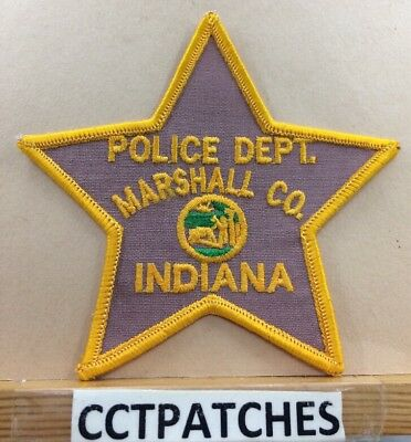 Marshall County, Indiana Police Shoulder Patch In