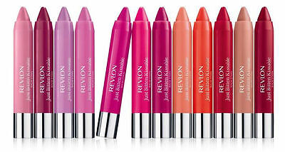 Revlon COLOR BURST Just Bitten Kissable Lip Crayon Balm Stain / Matte / Lacquer