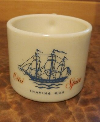 Vintage Early American Old Spice Shaving Mug 1950's - 60's Shulton GREAT COND.