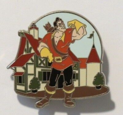 Disney Wdw New Fantasyland Mystery Gaston Tavern Beauty & The Beast Limited Pin