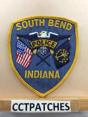 South Bend, Indiana Police Shoulder Patch In