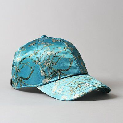 NWT Vans X Van Gogh Almond Blossom Vincent Hat Cap OSFA Women's One Size Limited