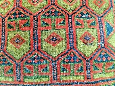 Antique Victorian Horse Carriage Seat Pillow Wool Rug Plated Horse Hair Carpet
