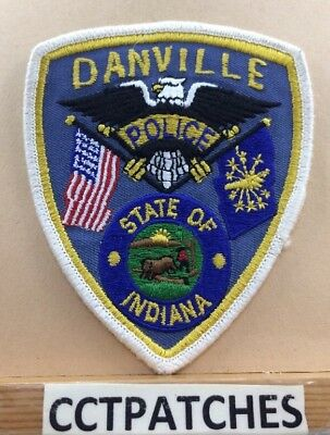 Danville, Indiana Police Shoulder Patch In