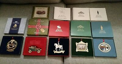 Lot Of 5 White House Historical Association Christmas Ornaments 91 94 97 03 12