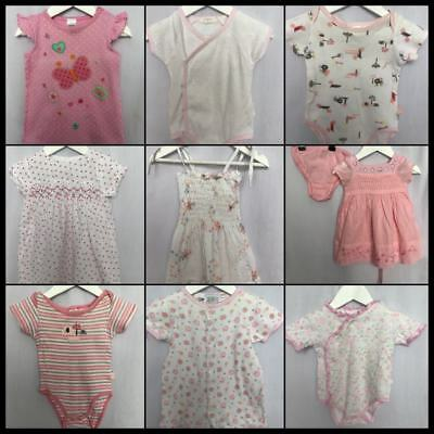 Baby Girls Size 00 Bulk Lot - Pumpkin Patch Papoose Layette Baby World