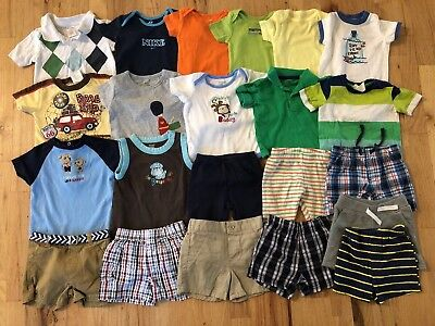 Baby Boy Clothes lot 3-6, 6 Months Spring/Summer 22 pieces. Free shipping