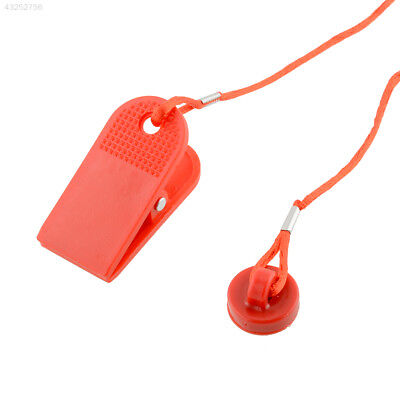Sports Running Machine Key Treadmill Magnetic Security Round Switch Lock Red