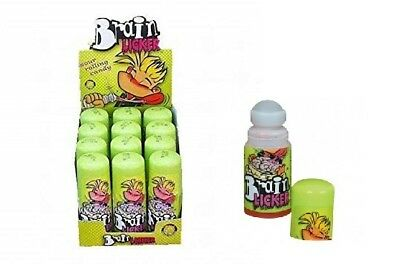 Brain Licker Rolling Tube Sour Liquid Candy 12 x 60ml, Cola Strawberry Blueberry