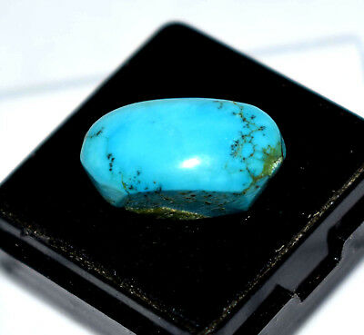 12.75 CT Natural Oval Cut Untreated Turquoise Arizona Best offer Gemstone