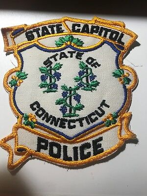 Old Defunct CT Connecticut State Capitol Police Patch
