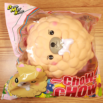 DecoMayShop Chow Chow Squishy- Light Brown