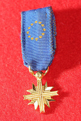Original Cross of the European Confederation of Former Combatants issued to Ukr.