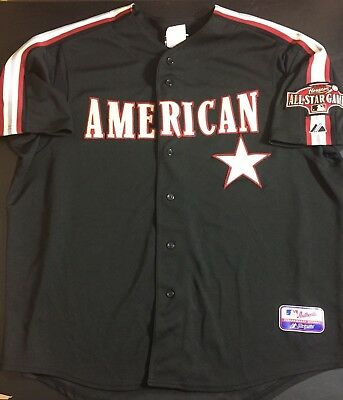 d8c96ad285e 2004 MLB American League All Star Game Majestic Blank Jersey Size 2XL - NWT