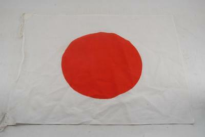 Excellent!! Japanese WW2 Army/Navy Rising Sun Cloth Hata 34.5x43cm #a5236