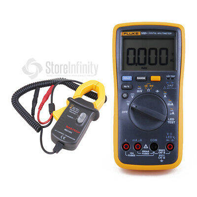 Fluke 18B+ Digital Multimeter DMM with AC Current Clamp Meter Transducer